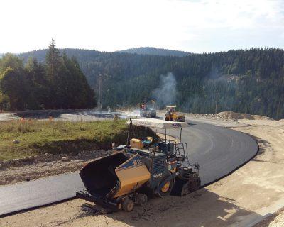 Izgradnja puta – Istočni Drvar