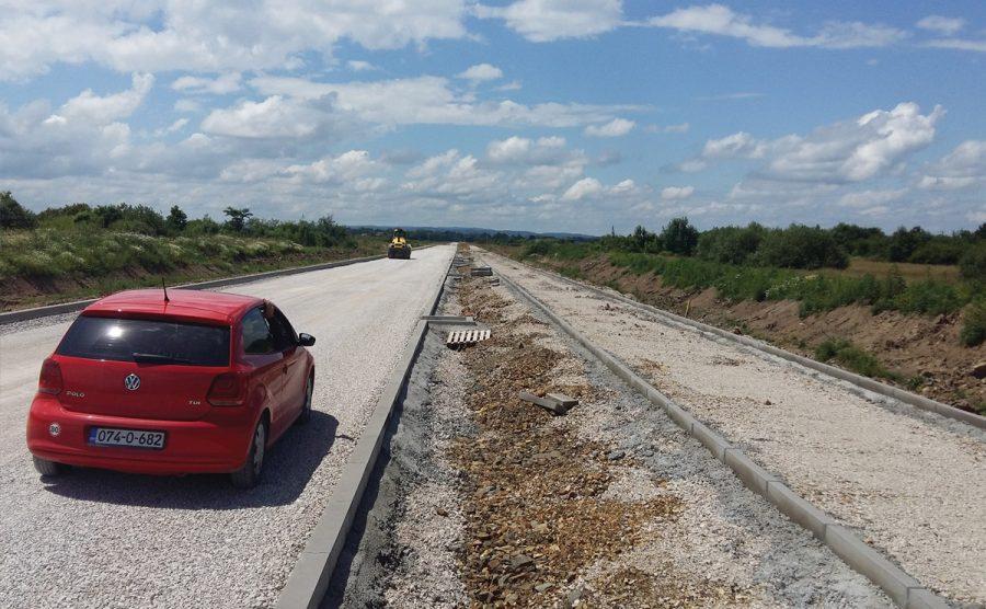 Izgradnja puta – Gradiška