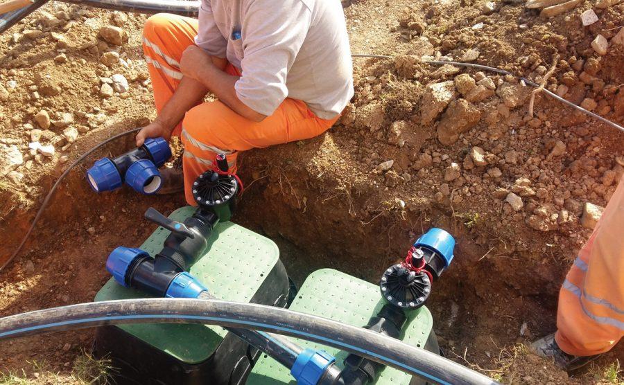 Izgradnja vodovoda